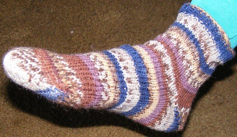 First sock on adjustable kiss