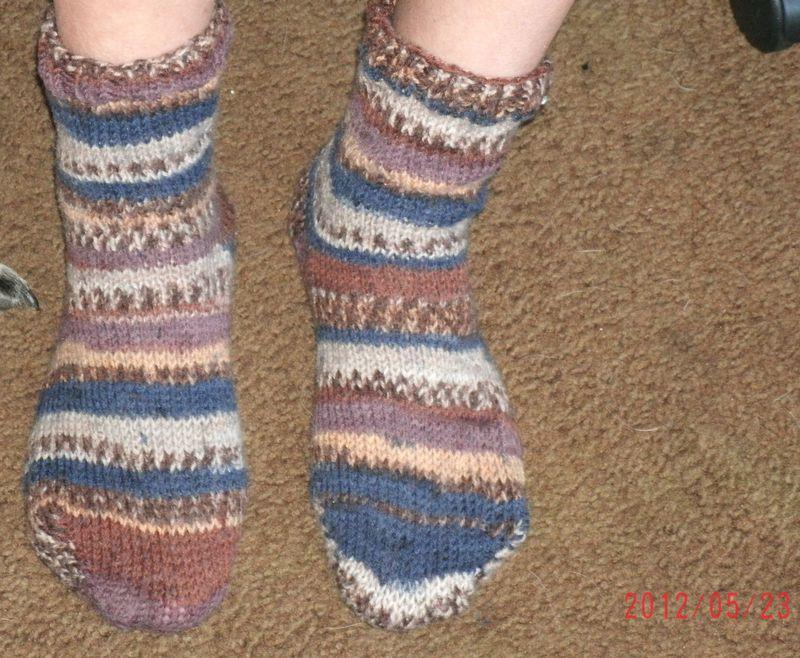 Socks on fixed 2
